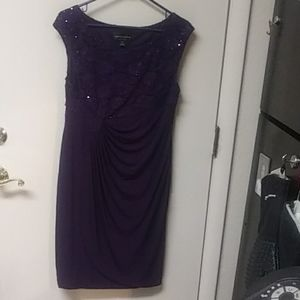 Connected petite formal dress